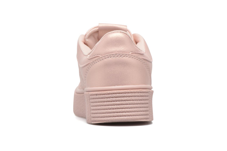 Deportivas I Love Shoes THAMI Rosa vista lateral derecha