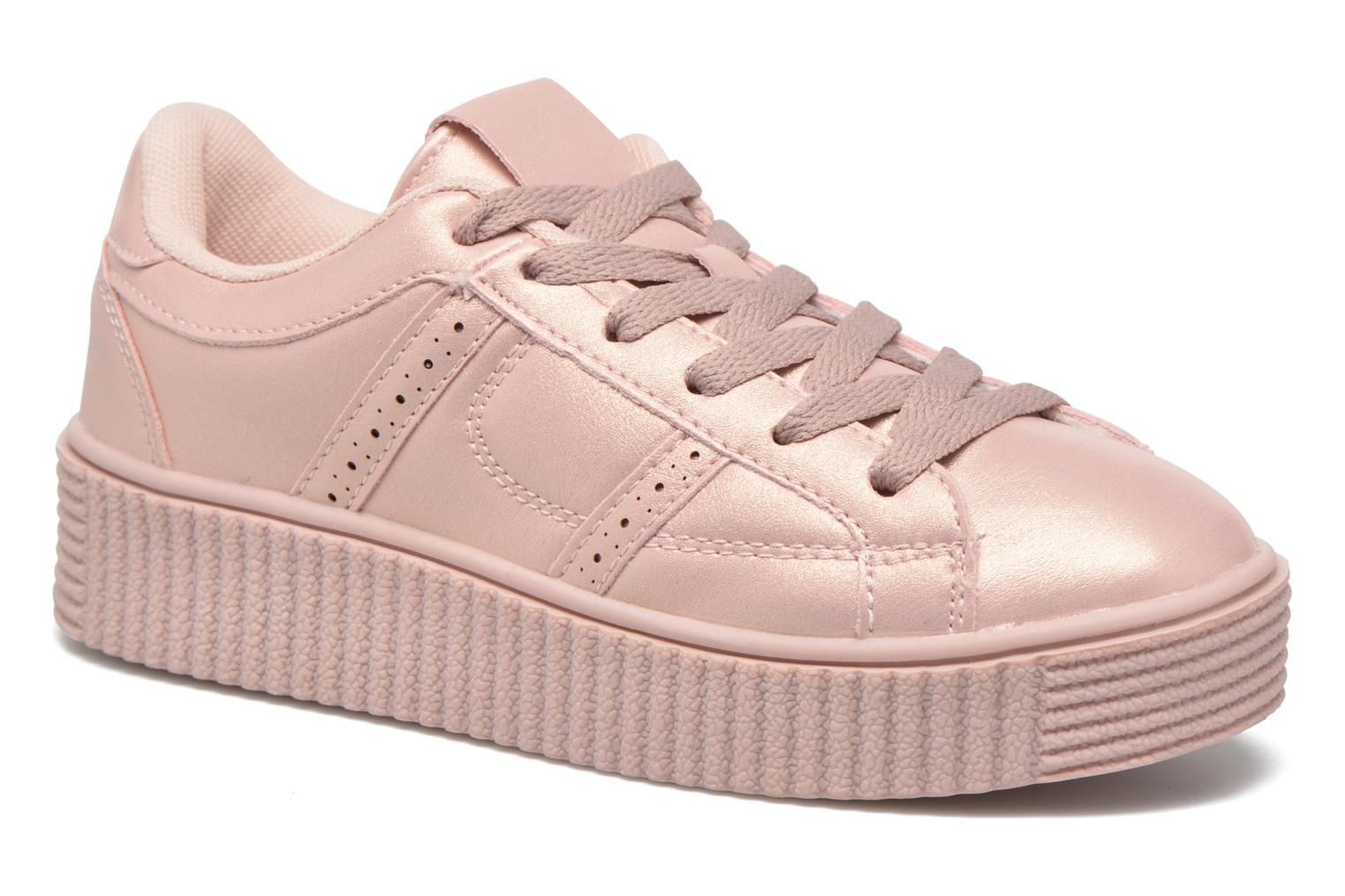 Trainers I Love Shoes THAMI Pink detailed view/ Pair view