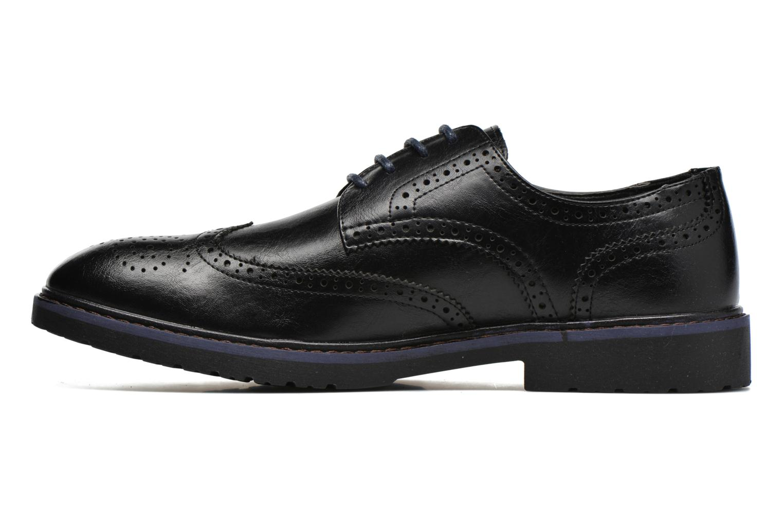 Veterschoenen I Love Shoes THEM Zwart voorkant