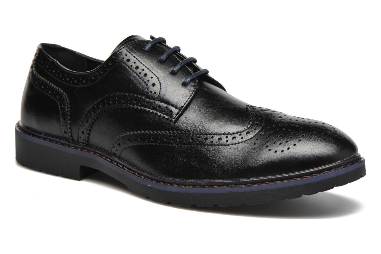 Veterschoenen I Love Shoes THEM Zwart detail