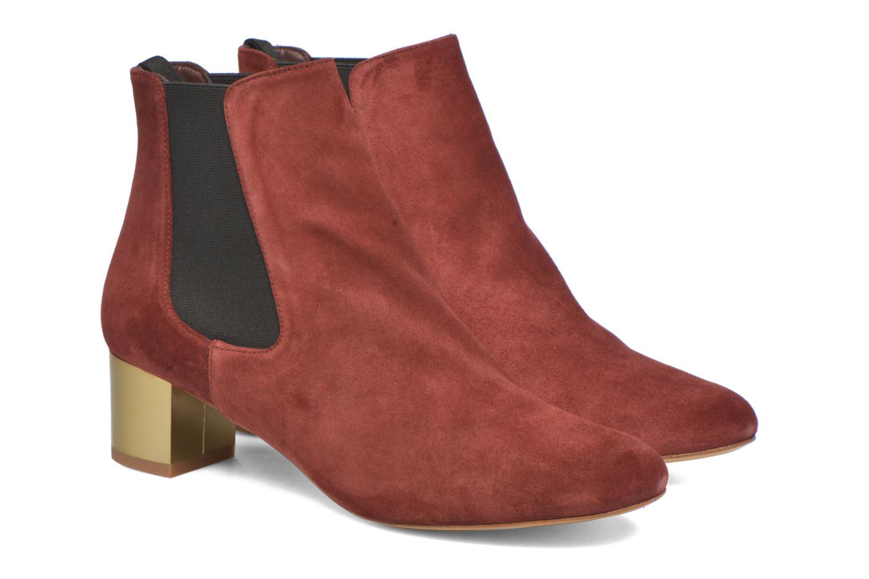 Bottines et boots Avril Gau Ralphmet Bordeaux vue 3/4