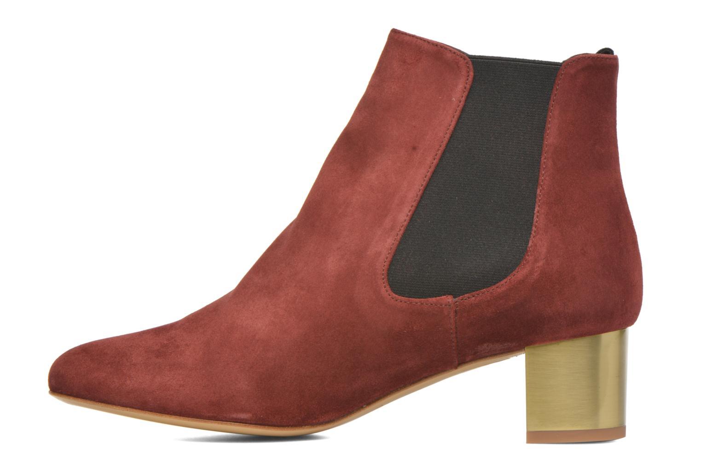 Bottines et boots Avril Gau Ralphmet Bordeaux vue face