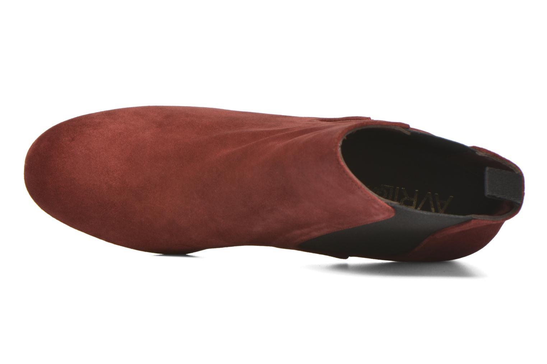 Bottines et boots Avril Gau Ralphmet Bordeaux vue gauche