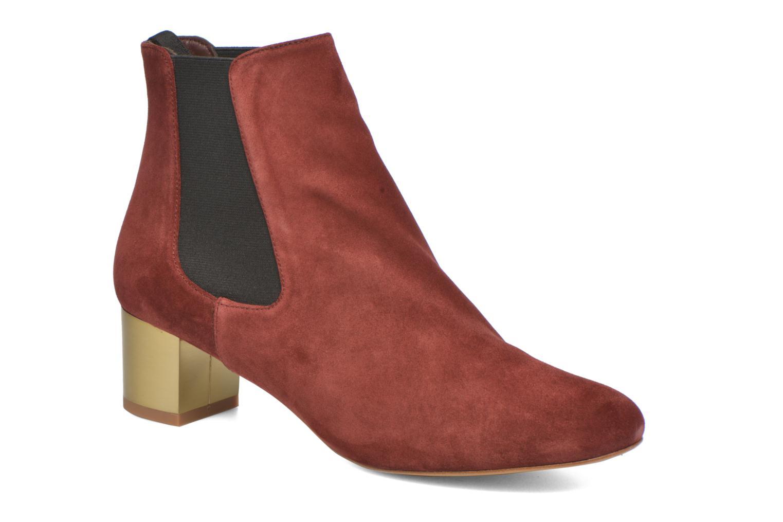 Bottines et boots Avril Gau Ralphmet Bordeaux vue détail/paire
