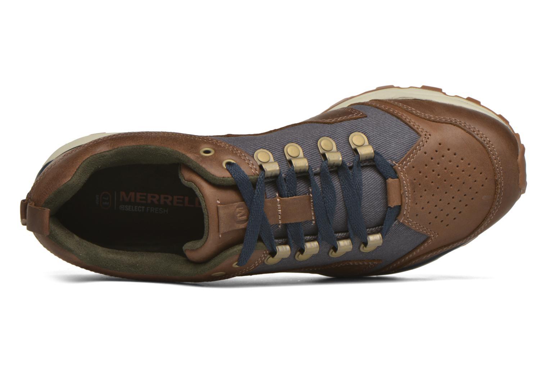 Chaussures de sport Merrell All Out Crusher Marron vue gauche