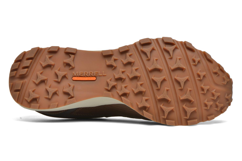 Chaussures de sport Merrell All Out Crusher Marron vue haut