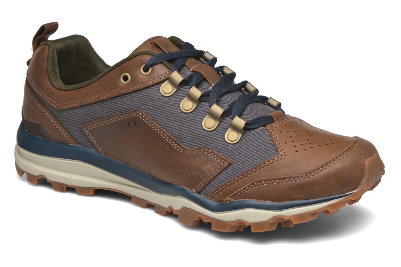 Chaussures de sport Merrell All Out Crusher Marron vue détail/paire