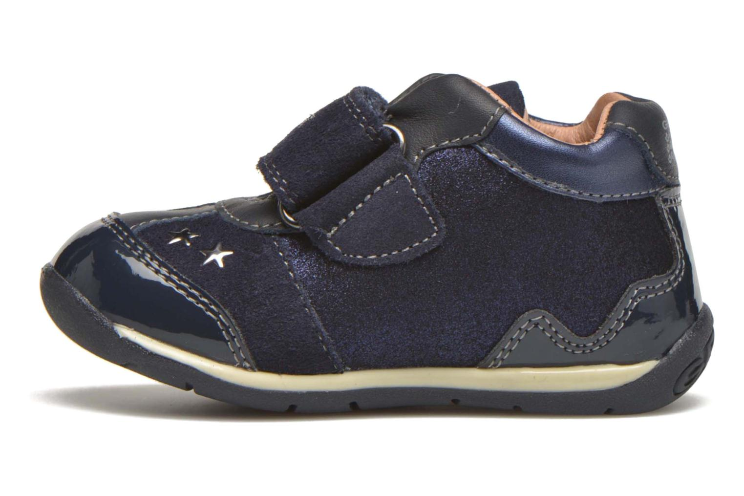 Trainers Geox B Each Girl B540AA Blue front view