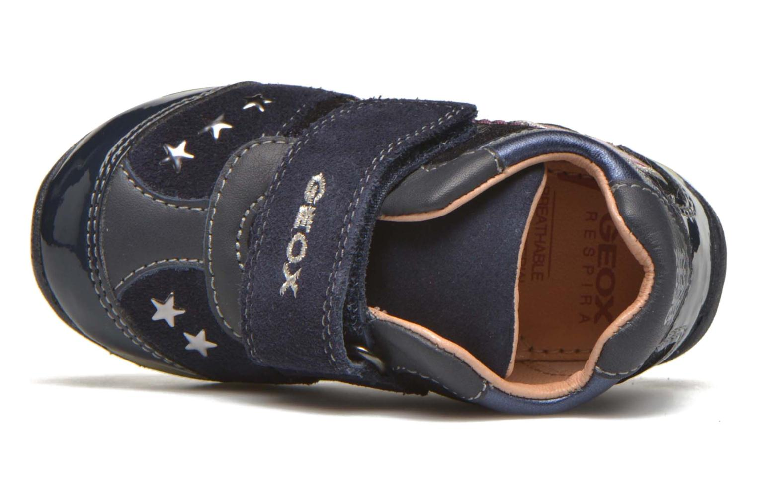 Trainers Geox B Each Girl B540AA Blue view from the left