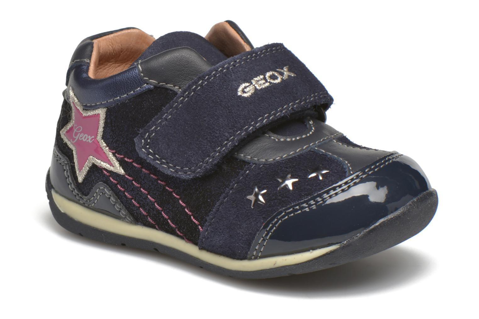 Trainers Geox B Each Girl B540AA Blue detailed view/ Pair view