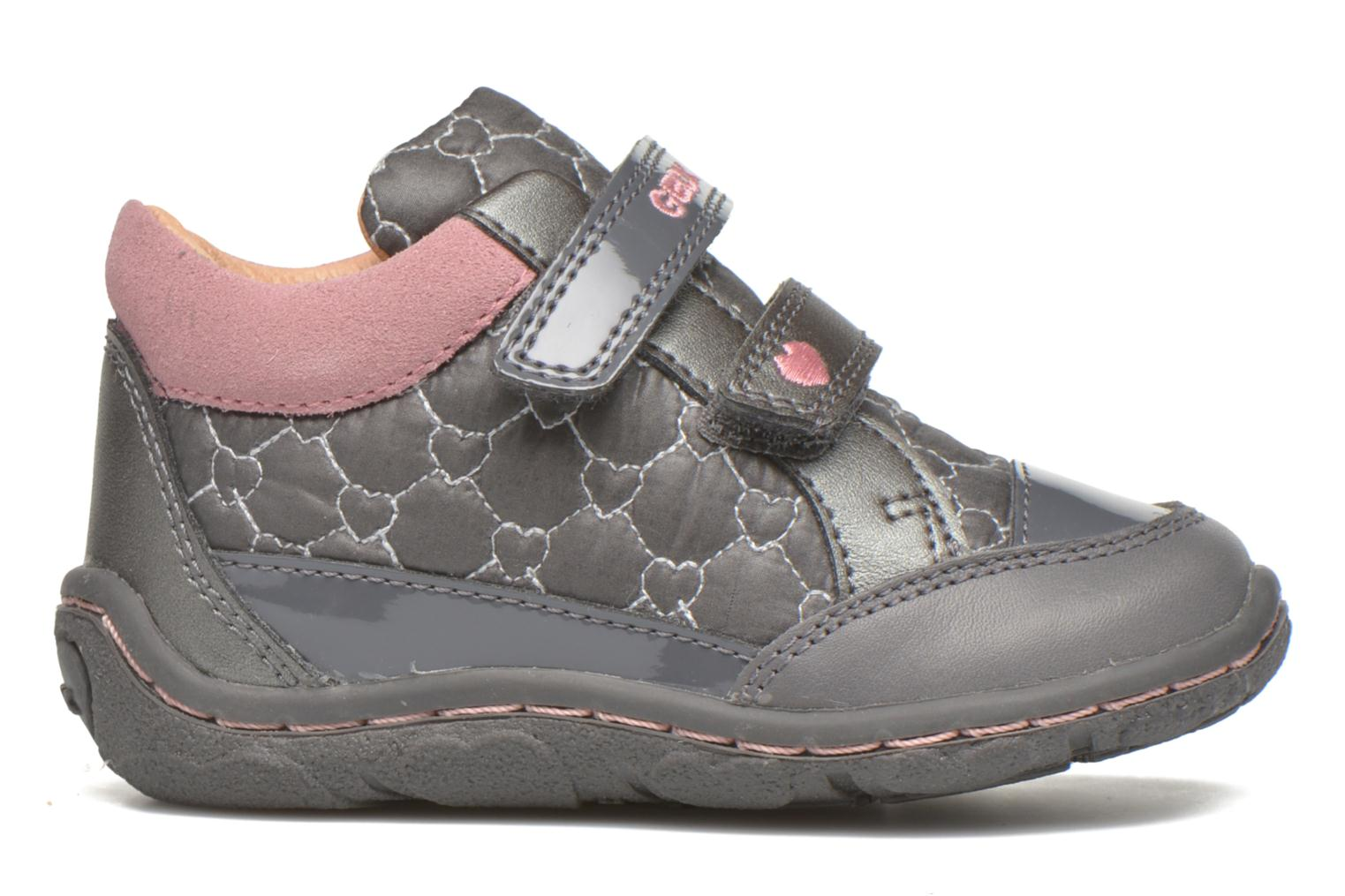Trainers Geox Baby Lolly B5434I Grey back view