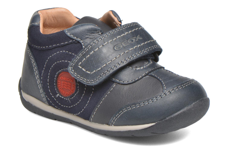 Sko med velcro Geox B Each Boy B540BD Blå detaljeret billede af skoene