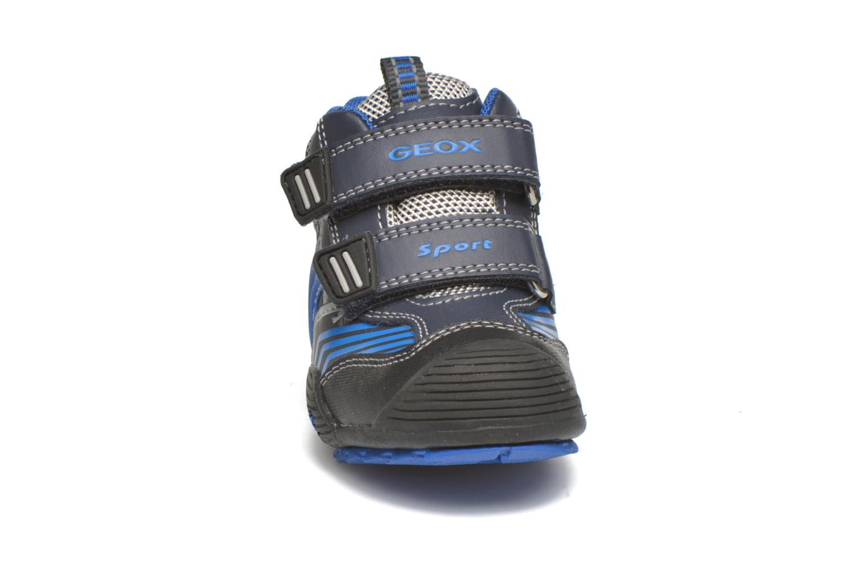 Stiefeletten & Boots Geox B Savage B ABX B540CA blau schuhe getragen