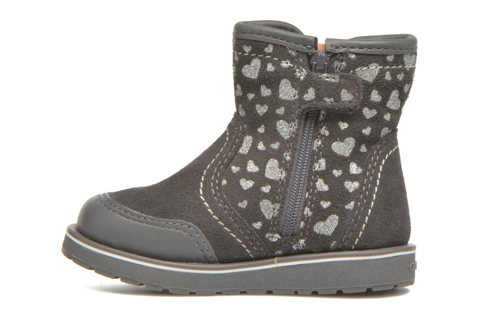 Bottines et boots Geox Baby Noha B5460A Gris vue face