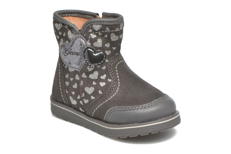 Bottines et boots Geox Baby Noha B5460A Gris vue détail/paire