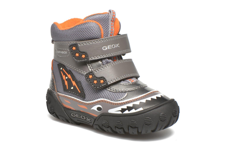 Bottines et boots Geox B Gulp B Boy ABX B5402A Gris vue détail/paire