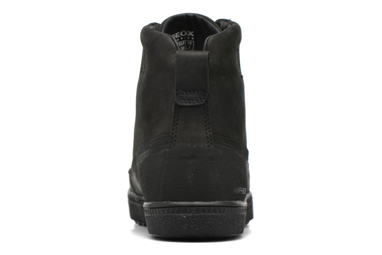 Bottines et boots Geox D Amaranth B ABX D44Z4B Noir vue droite