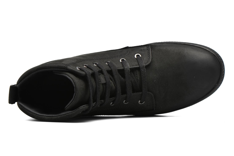 Bottines et boots Geox D Amaranth B ABX D44Z4B Noir vue gauche