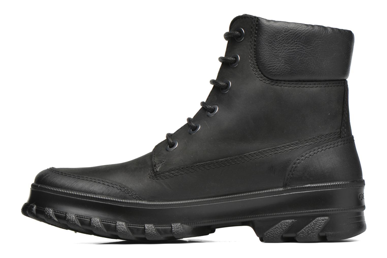 Stiefeletten & Boots Geox U Yeti B ABX U44U1B schwarz ansicht von vorne