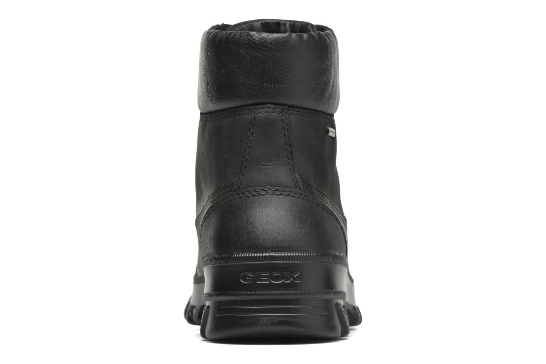 Bottines et boots Geox U Yeti B ABX U44U1B Noir vue droite