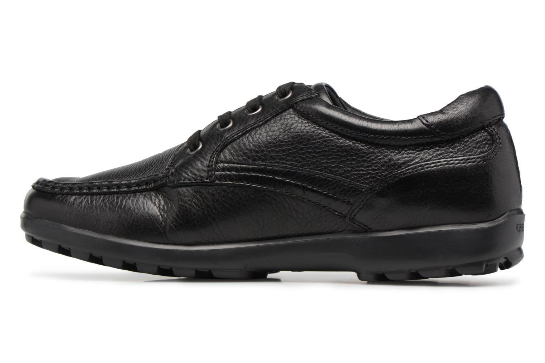 Sneakers Geox U Mantra U44R5D Svart bild från framsidan