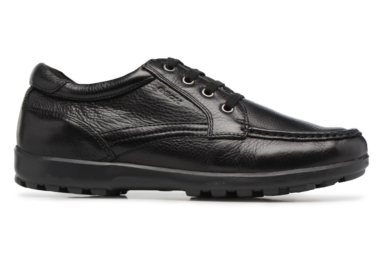 Sneakers Geox U Mantra U44R5D Zwart achterkant