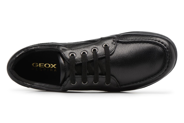 Sneakers Geox U Mantra U44R5D Zwart links