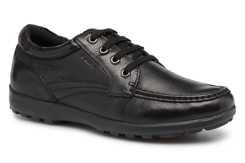 Sneakers Geox U Mantra U44R5D Svart detaljerad bild på paret