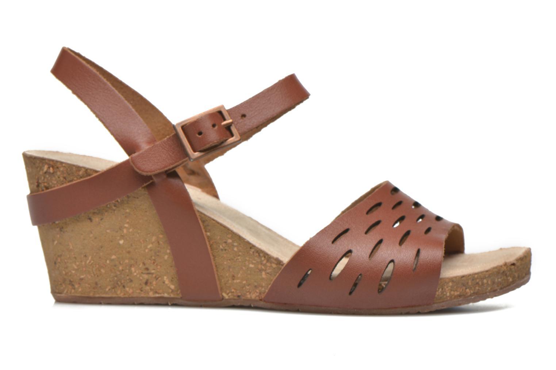 Sandales et nu-pieds TBS Riffah Marron vue derrière