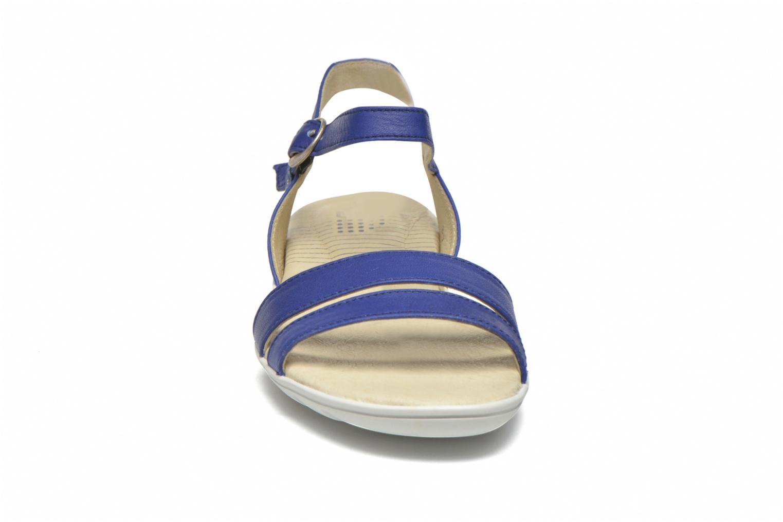 Sandales et nu-pieds TBS Nikkia Bleu vue portées chaussures