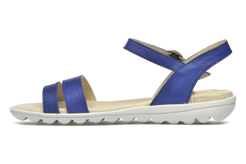 Sandales et nu-pieds TBS Nikkia Bleu vue face