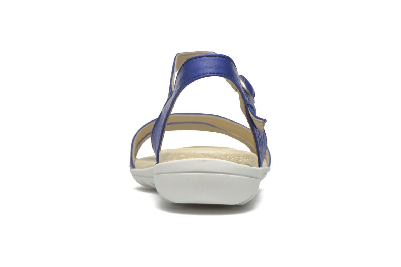 Sandales et nu-pieds TBS Nikkia Bleu vue droite