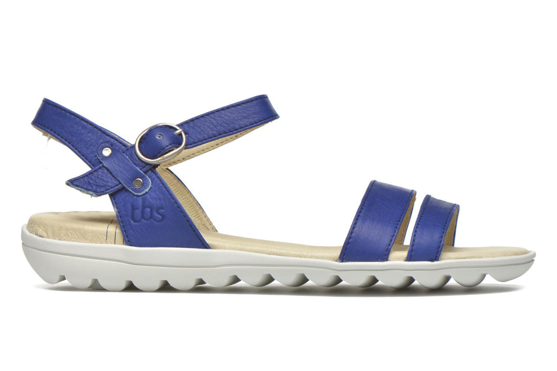 Sandales et nu-pieds TBS Nikkia Bleu vue derrière