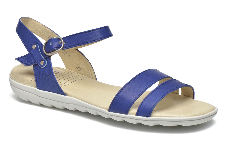Sandales et nu-pieds TBS Nikkia Bleu vue détail/paire