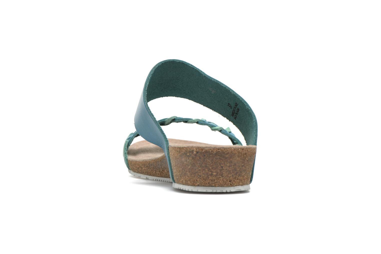 Sandales et nu-pieds TBS Kazuno Bleu vue droite