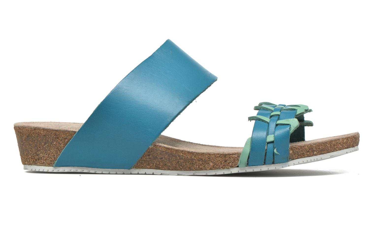 Sandals TBS Kazuno Blue back view