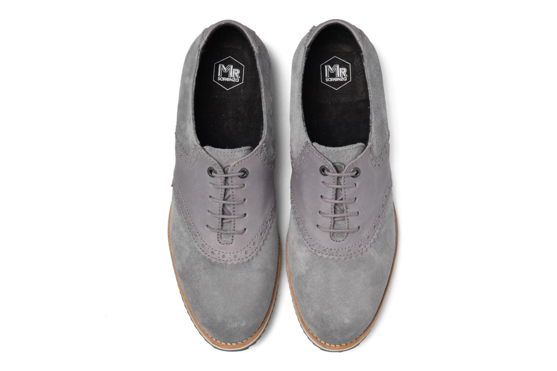 Zapatos con cordones Mr SARENZA Stawugs Gris vista del modelo