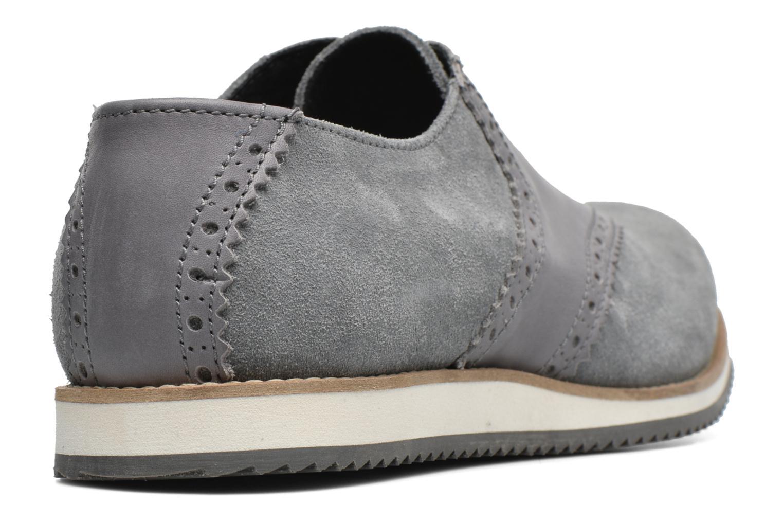 Chaussures à lacets Mr SARENZA Stawugs Gris vue face