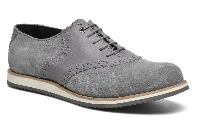 Zapatos con cordones Mr SARENZA Stawugs Gris vista lateral derecha
