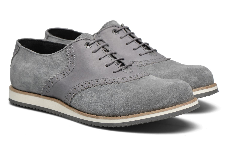 Chaussures à lacets Mr SARENZA Stawugs Gris vue derrière