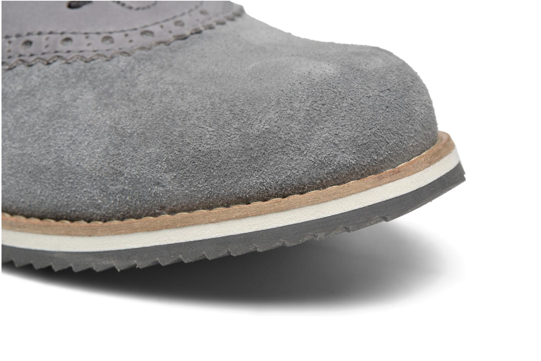 Zapatos con cordones Mr SARENZA Stawugs Gris vista lateral izquierda