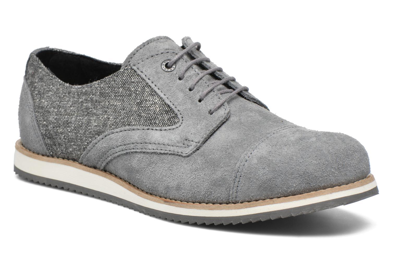 Snörade skor Mr SARENZA Steamer Grå Bild från höger sidan