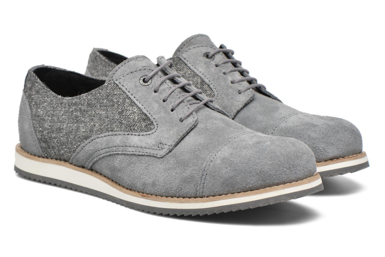 Snörade skor Mr SARENZA Steamer Grå bild från baksidan
