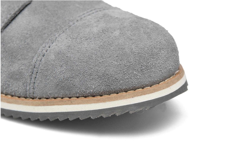 Scarpe con lacci Mr SARENZA Steamer Grigio immagine sinistra