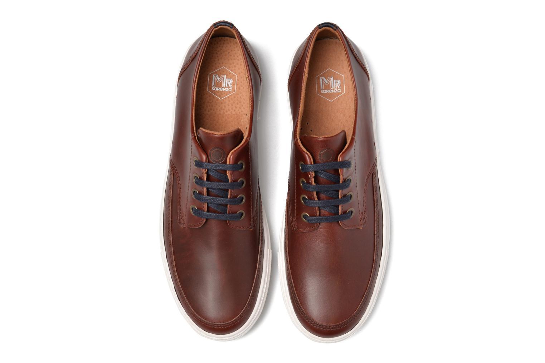 Sneaker Mr SARENZA Stevens braun schuhe getragen
