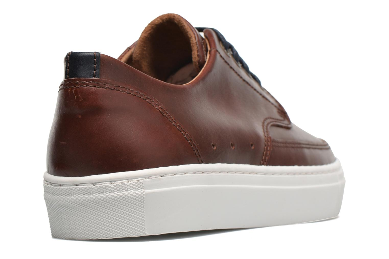 Sneaker Mr SARENZA Stevens braun ansicht von vorne