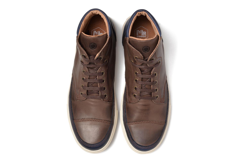 Sneaker Mr SARENZA Stridor braun schuhe getragen