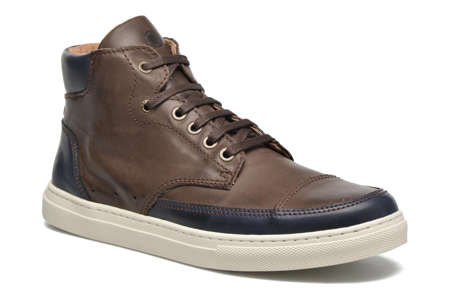 Trainers Mr SARENZA Stridor Brown view from the right