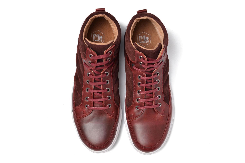 Sneaker Mr SARENZA Stryges weinrot schuhe getragen