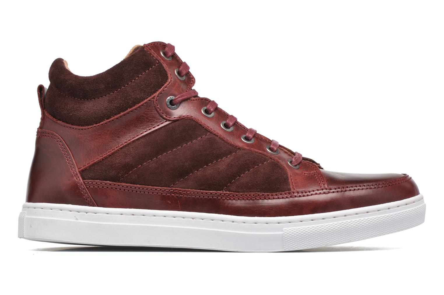 Sneakers Mr SARENZA Stryges Bordeaux detail